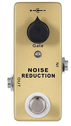 mini noise gate pedal guitar effect pedal noise reduction and true bypass in electric instrument. Black Bedroom Furniture Sets. Home Design Ideas