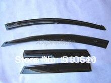 New Mugen Style Window Visor Vent Fit For Mazda 3 M3 2010-2012 5dr Hatchback 2010 2011 2012 vgy