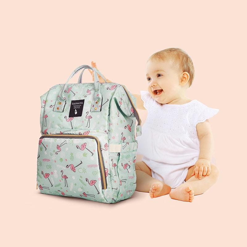 CROWDALE Diaper Bag Nursing Baby Care Backpack Fashion Mummy Maternity Nappy Bag Large Capacity Baby Bag Travel Backpack For Mom