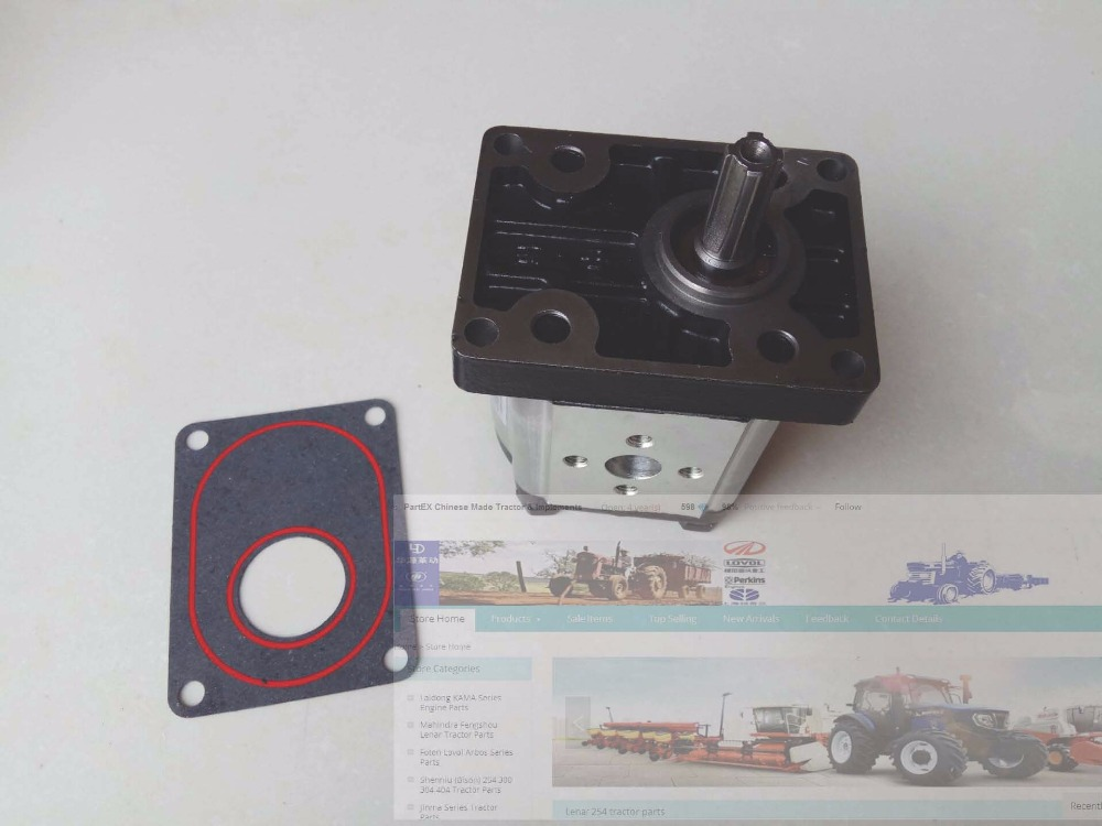 YTO 454 504 550 554 series tractor parts the hydraulic gear pump CBN 316