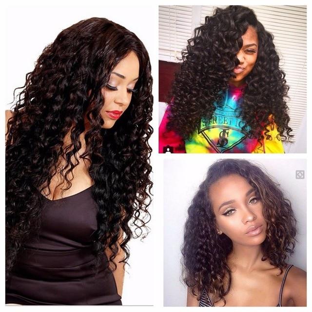 Indian Curly Virgin Hair 4 Bundles Raw Virgin Indian Deep Curly Hair