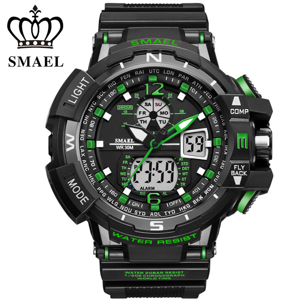 2017 Men Sports Watches S-SHOCK Military Watch Fashion Wristwatches Dive Men's LED Digital Watches Waterproof Relogio Masculino pedometer heart rate monitor calories counter led digital sports watch fitness for men women outdoor military wristwatches