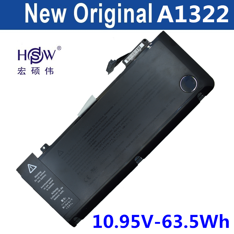 HSW A1322 laptop battery For APPLE for MacBook Pro 13