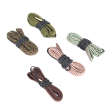 Hunting Gun Bore Cleaner Snake 9mm,7.62mm,4.5mm,7mm,12GA Rifle Cleaning Kit Tool цены