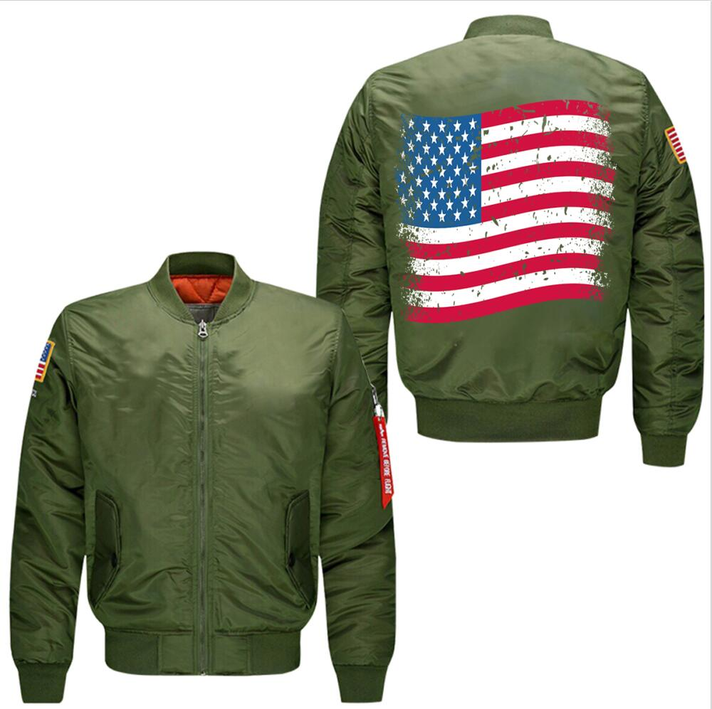 2017 New Only Front On All Designs spring autumn men's leisure jacket collar code Air Force pilots jacket