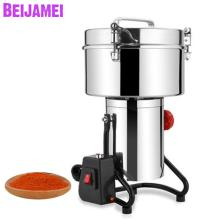 BEIJAMEI New Arrival 3000g Commercial Herb Grain Powder Grinder Machine / Industrial Chinese Medicine Herbal Grinding