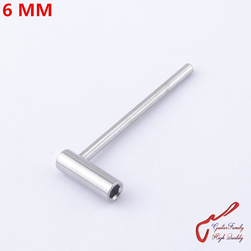 1 Piece GuitarFamily  Electric Guitar Bass Truss Rod Hex Wrench Tool   6 MM  ( #0441 )  MADE IN KOREA kmise chrome plated metal truss rod cover for electric guitar replacement pack of 50