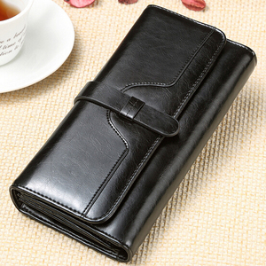 Image 2 - Prawdziwej skóry kobiet portfel luksusowe sprzęgła portmonetka posiadaczy Worki na pieniądze projektant damskie portfele portfel markowy portfolio
