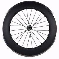 700C 90 мм Глубокий профиль клинчер углеродный аллюминовый дорожный велосипед колесо/обод 23 мм ширина Лучшая Продажа Франция и Испания велоси...