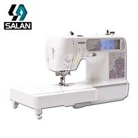 BROTHER NV950 бытовых небольшой Электрический швейно вышивальная машина Набор Мини Портативный фабричная поставка Бесплатная доставка