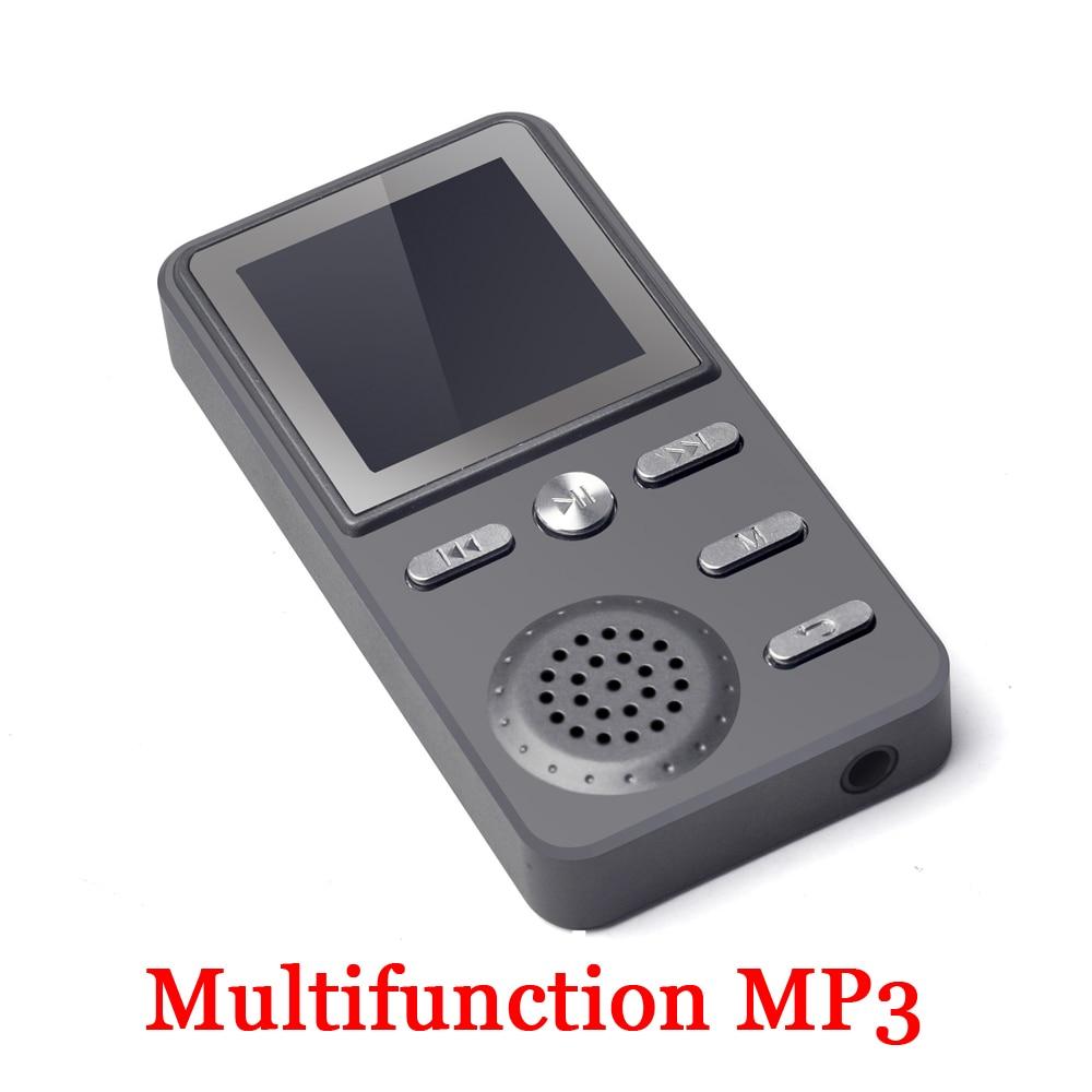 Haute qualité 4 GB lecteur MP3 son fort haut-parleur FM réveil multifonction FLAC Hifi musique sans perte 4g lecteurs 4 GB mémoire