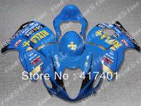 Mavi sarı R1300 GSX GSXR 1300 Hayabusa GSXR1300 96-07 için GSX-R1300 96 97 98 99 00 01 02 03 04 05 06 07 ABS fairing kiti