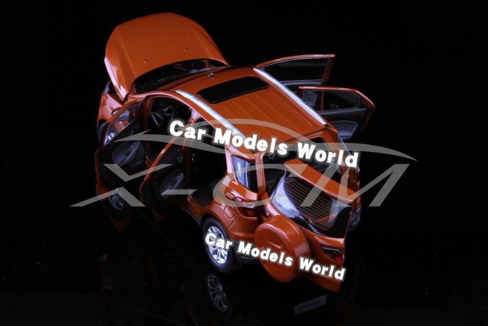 Odlany model samochodu dla Ecosport 1:18 (pomarańczowy) + mały prezent!!!!! w Odlewane i zabawkowe pojazdy od Zabawki i hobby na  Grupa 2