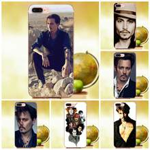 Célèbre Johnny Depp Pendant Galaxy A3 A5 A7 On5 On7 2015 2016 2017 Grand Alpha G850 Core2 Premier S2 I9082 Coloré(China)