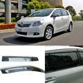 4 unids Hoja Ventanas Laterales Deflectores Puerta Visera de Sun Shield Para Toyota Verso EZ 2011-2014