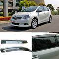4pcs Blade Side Windows Deflectors Door Sun Visor Shield For Toyota Verso EZ 2011-2014