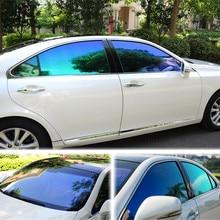 SUNICE 50 см x 300 см нано керамическая пленка для окна автомобиля Оттенок VLT55% Солнцезащитная пленка УФ-защита авто автомобильный домашний офисный Декор
