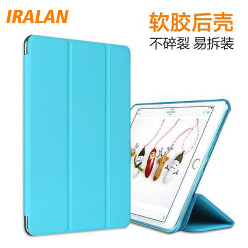 Case for Apple ipad mini 4 PU Leather + glitter soft silicone back cover tablet PC case ultrathin TPU shell coque housing