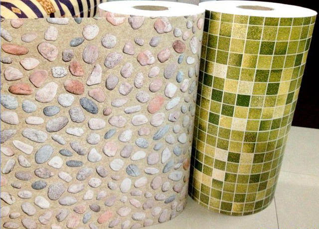 Online shop 10m kitchen bathroom pvc tiles mosaic self adhesive
