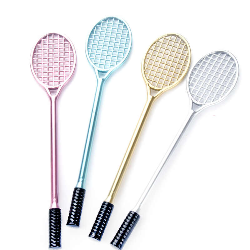 PVC Badminton racket for kids DIY fluffy slime form crystal soil kit clear slime Floam putty cream keyboard Model Clay tool