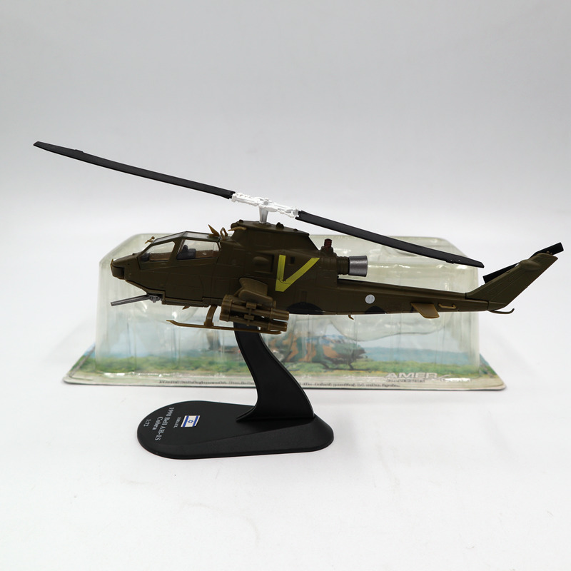 Helicopter Amercom 1:72 1998 Bell AH-1S Cobra Military Helicopter Diecast Models toys aircraft Limited Edition Collection tama hp600dbk iron cobra 600 drum pedal limited edition