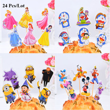 cake decorating cake topper birthday party supplies despicable me minion doraemon princess birthday cupcake toppers despicable me minion slipper little kid big kid