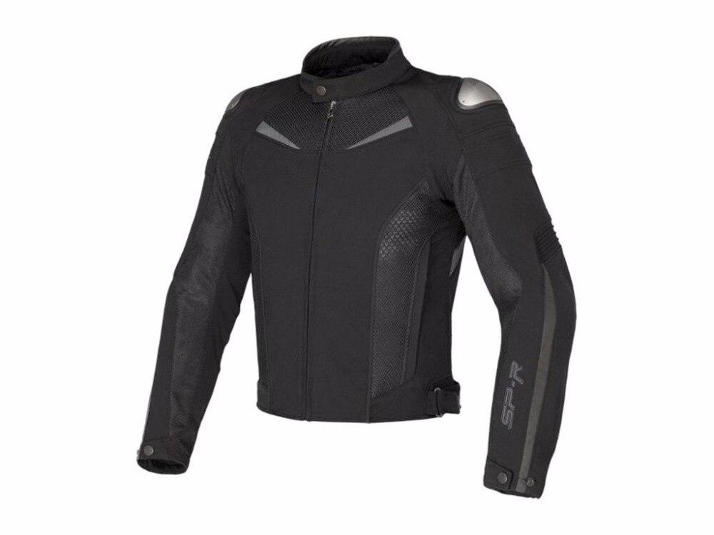Livraison gratuite 2017 nouveau Dain Super vitesse texte Textile veste moto équitation MotoGP course hommes veste