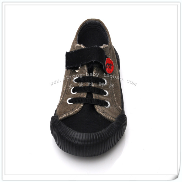Male child cotton-padded shoes single shoes