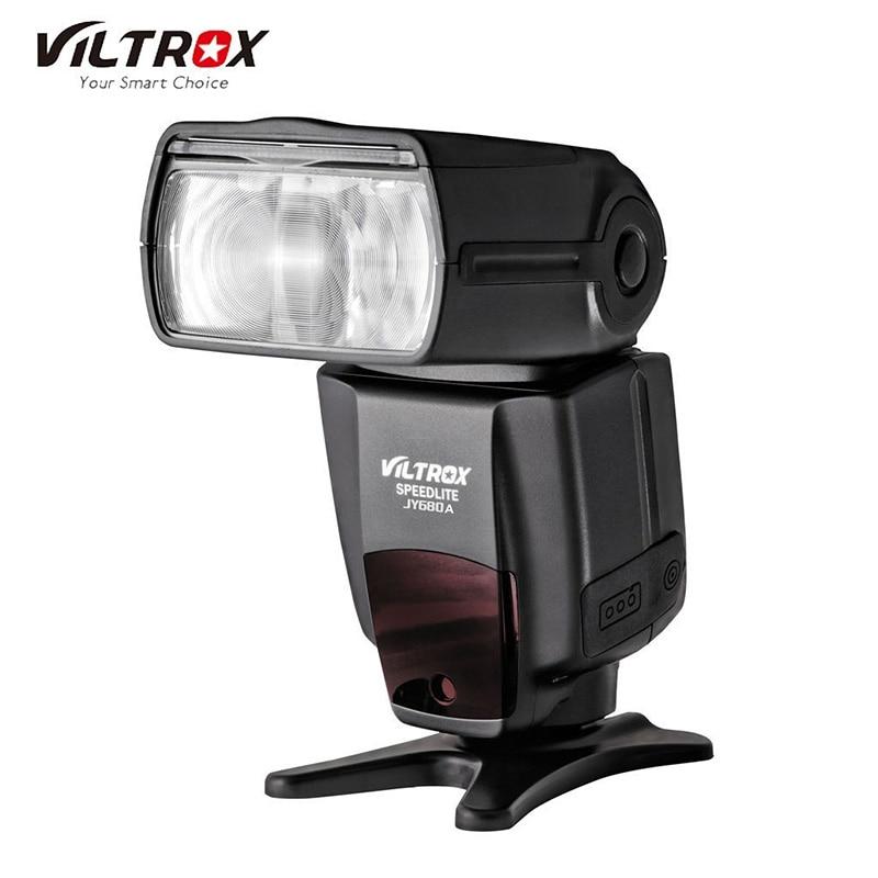 Viltrox JY-680A Speedlight  Universal Master Flash for Canon 760D 70D Nikon D7100 D5400 D3400 Pentax Olympus Cameras GN33 index
