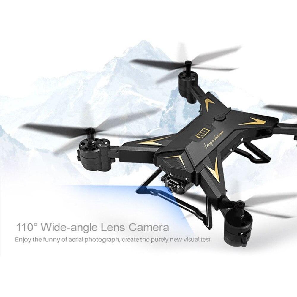 KY601S Full HD 1080 P 4 Canal Long Durable Pliable Bras télécommande quadrocopter avec caméra Drone WIFI transmission en temps voulu