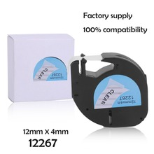 Personal Use 12 4MM Label Tape Great Stability Convenient Label Tag Tape Label Paper Suitable For