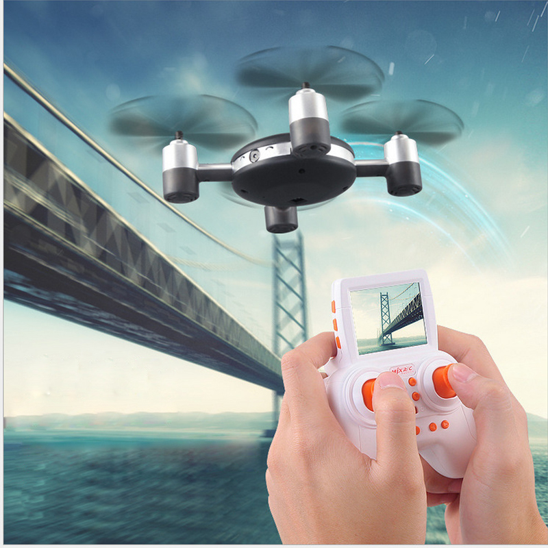 5.8G FPV Drones X906T With HD Camera headless mode rc drone UFO rc drone FPV real-time transmission Resistance RC Quadcopter