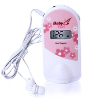 2.5 MHz Fetal Doppler Fetal Heart Monitor with LCD display