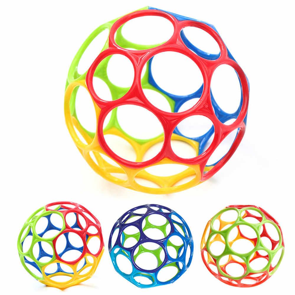 Мягкие красочные игрушки с шариками ручная погремушка развивающие игрушки сенсорные укусы пойманные руки Oball мяч для обучения ребенка захватывающий подарок для ребенка