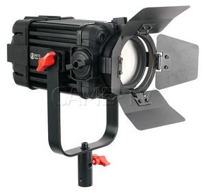 Image 2 - 2 قطعة CAME TV بولتزن 60 واط فريسنل بدون مروحة فوكوسابل LED ضوء النهار عدة B60 2KIT Led الفيديو الضوئي