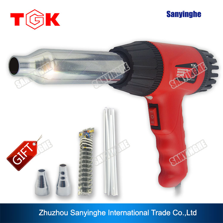 700W 220V plastic welding repair/hot air welder  цены