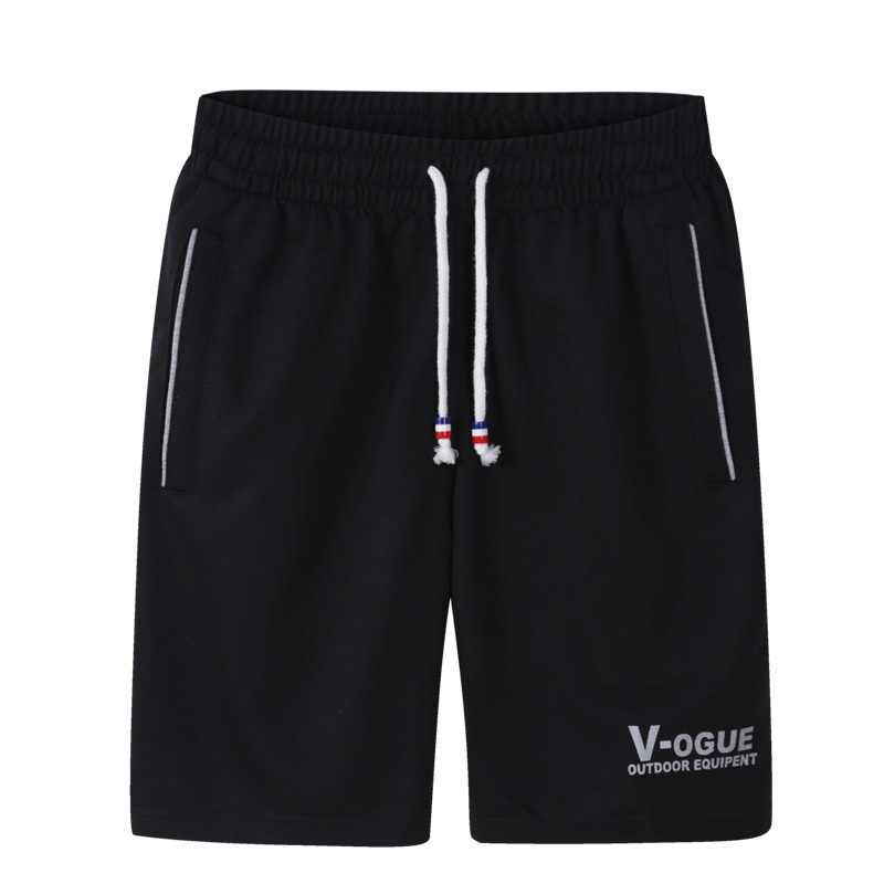 Lato stałe szorty mężczyźni moda krótkie spodnie marki Hombre na co dzień wygodne Fitness męskie budowy ciała bermudy masculina 4XL 2019