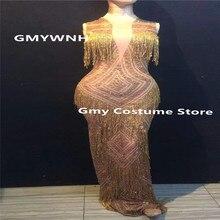0c0ed8666c Buy rhinestone dj costume and get free shipping on AliExpress.com