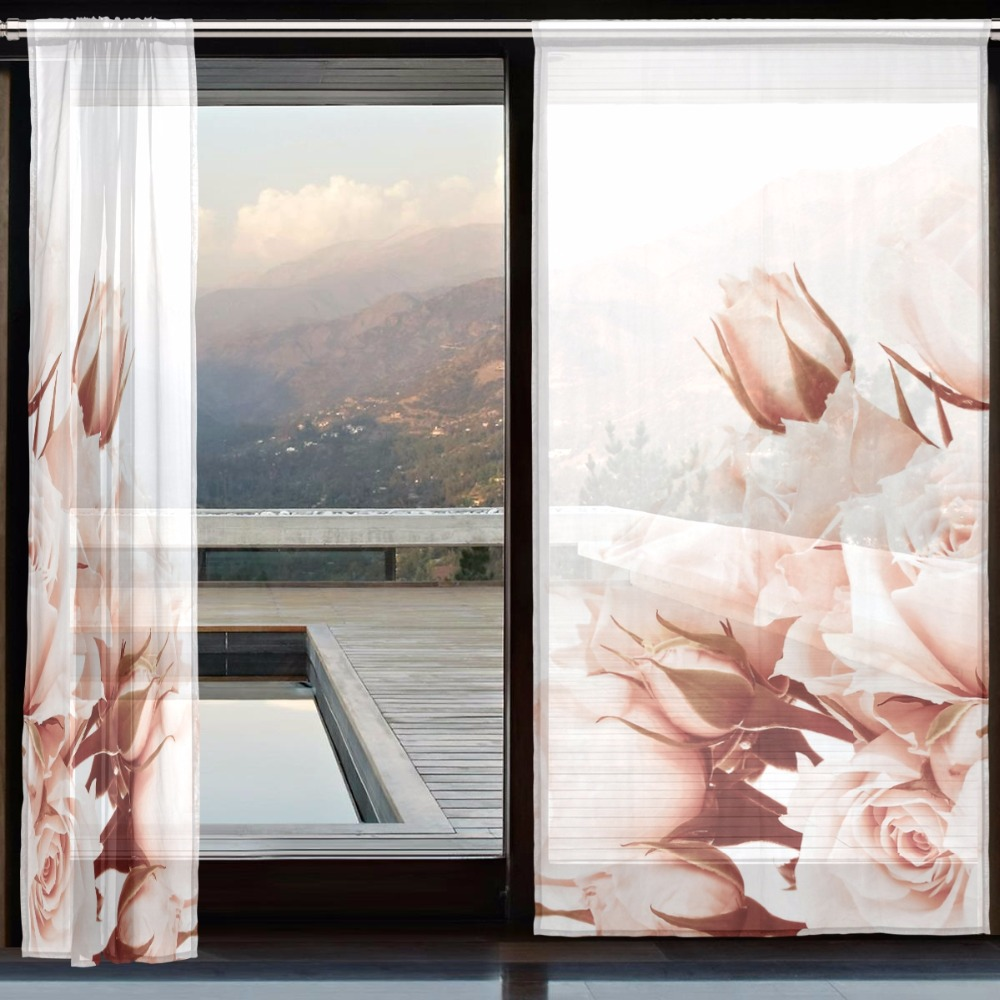 Window Curtains And Tulle Cortinas Dormitorio For Living Room Luxury Modern  Tulle Curtains White Voile Curtain