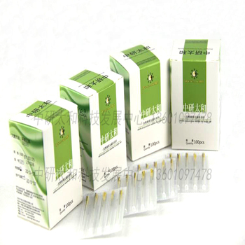 100 pieces zhongyantaihe Sterile acupuncture needle disposable tube needle one needle with one guide tube beauty massage acupuncture needle 500 pcs with tube disposable needle zhongyan taihe sterile needle beauty acupuncture massager