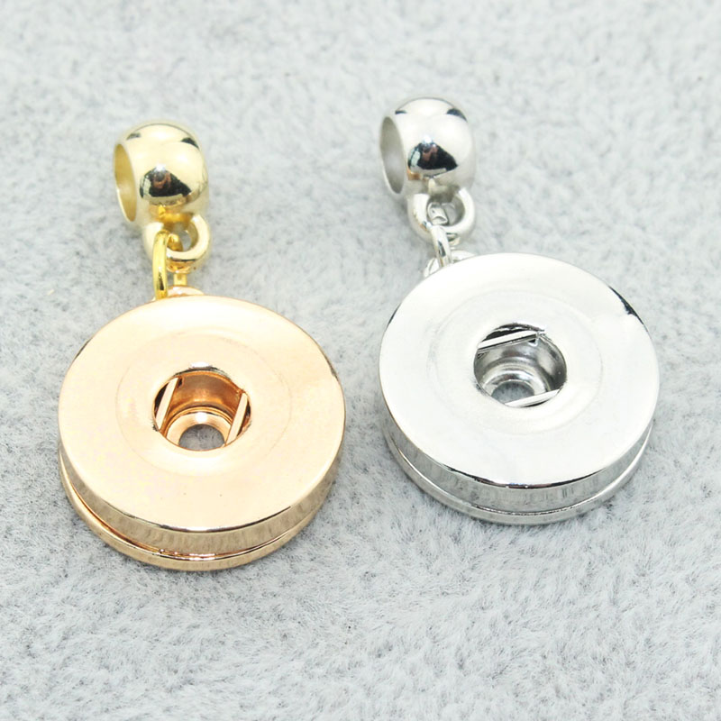 10pcs/lot Hot Wholesale 18MM 12MM Snap Buttons Fittings For DIY Snap Bracelets& Necklace ...