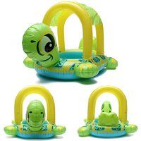 Chất Lượng cao Bé Kids Rùa Shape Hồ Bơi Bơm Hơi Float Seat Thuyền Bơi Nước Nóng Bán Swim Đồ Chơi