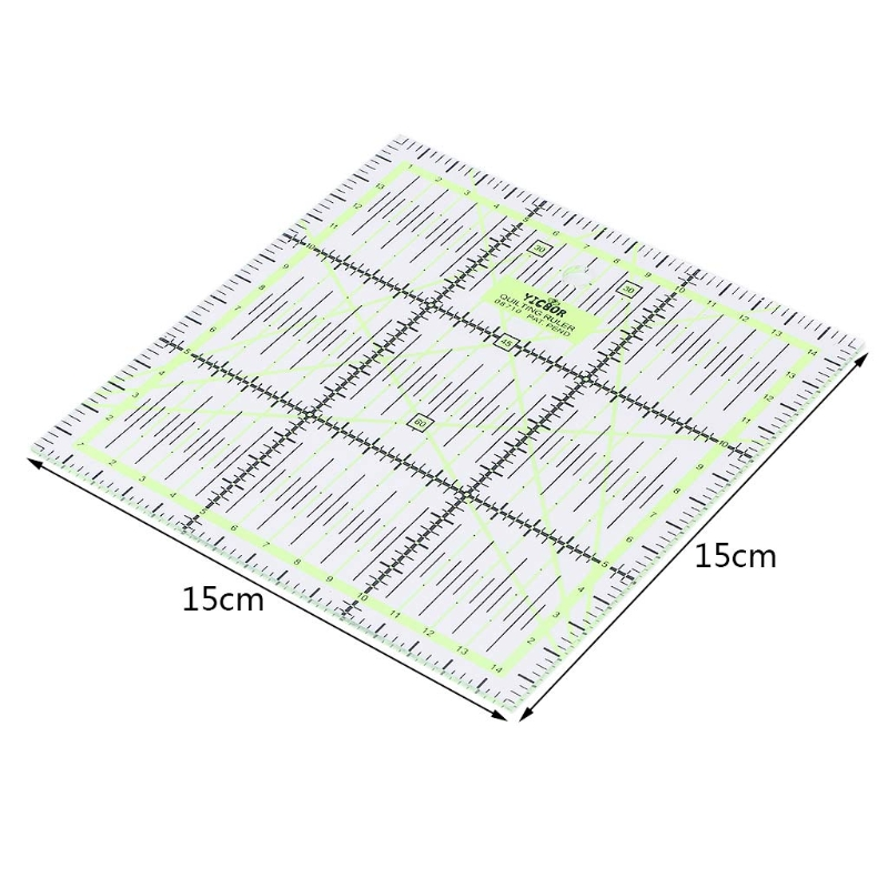 2019 New Transparent Quilting Sewing Patchwork Ruler Cutting Tool Tailor Craft DIY