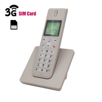 GSM 3G WCDMA Wireless Telefon Landline Phone With SIM Card SMS Backlight LED Screen Radiotelephones Cordless Phone For Home