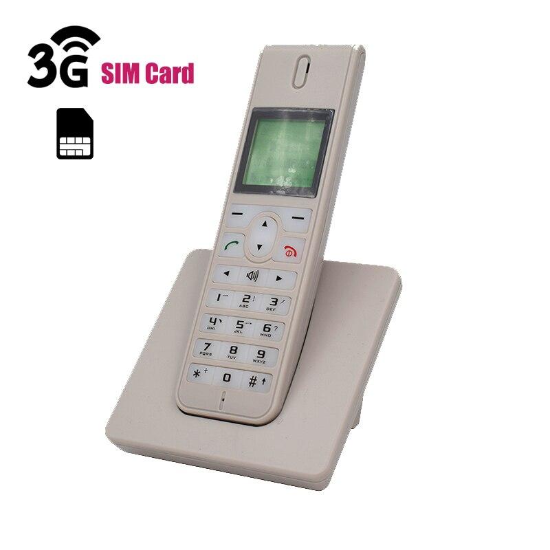 GSM 3G WCDMA téléphone fixe sans fil Telefon avec carte SIM SMS rétro-éclairage écran LED radiotéléphones sans fil téléphone pour la maison