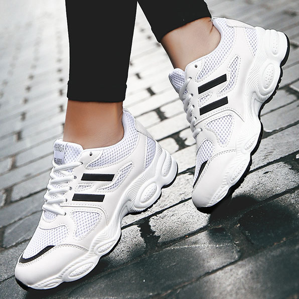 Sport-Shoes Sneakers Trainers Tenis Feminino Fitness Women Athletic Female New Mesh Breathable