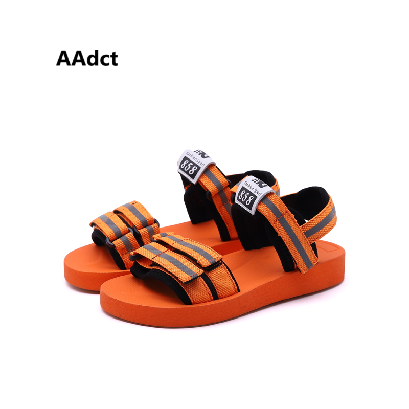 AAdct 2018 summer new kids sandals for girls Classic casual Comfortable boys sandals children shoes