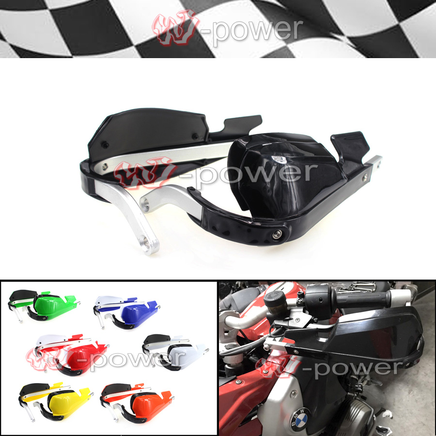 motorcycle wind shield handle hand guards plastic motocross handguards For BMW R1200GS 08-12 motorcycle accessories wind shield handle hand guards plastic motocross transparent handguards for honda big sheep fjs400 fjs600