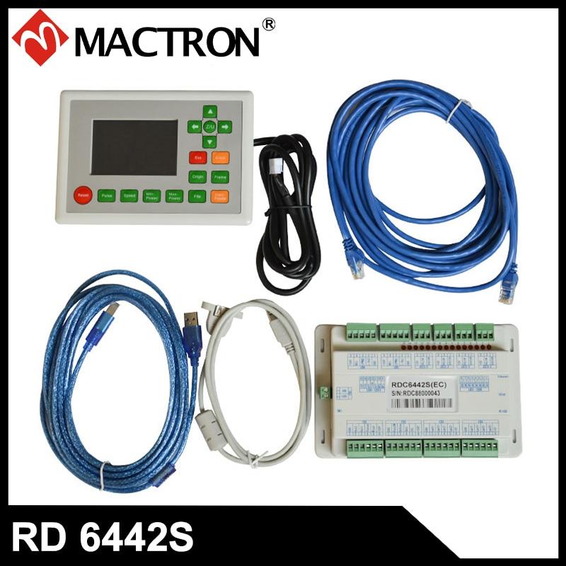 System kontrolera laserowego Ruida RDC6442S Karta laserowa Co2 do maszyny do cięcia i grawerowania laserowego