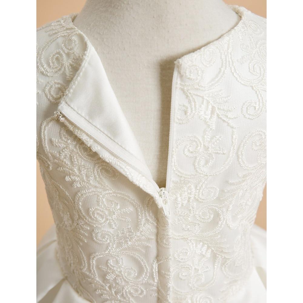 LAN TING BRIDE A-line kotníkové délky Květinové dámské šaty - Šaty pro svatební hostiny - Fotografie 5